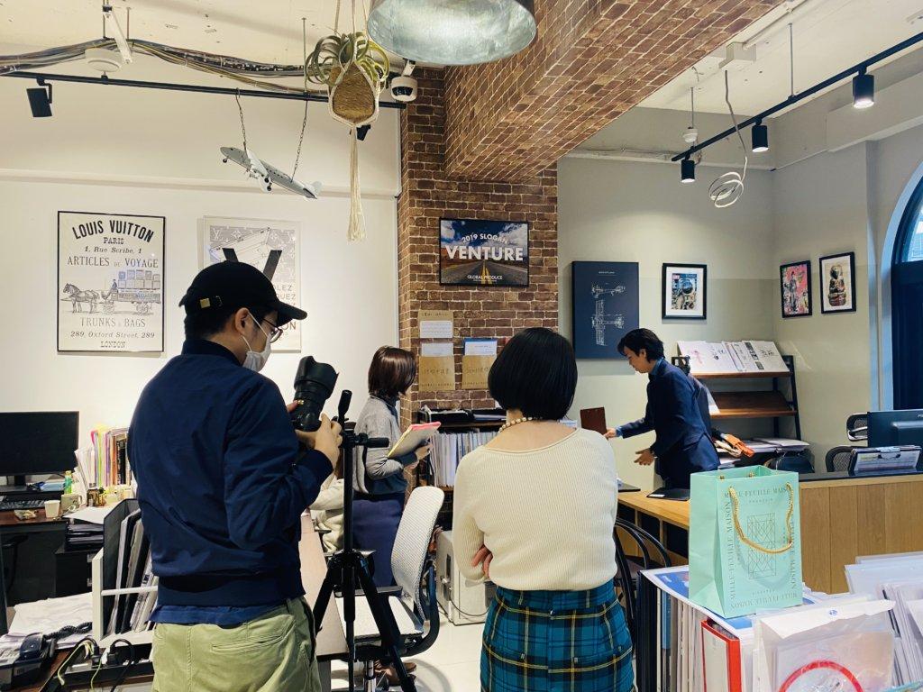 MEN'S EX 取材 グローバルプロデュース オフィス