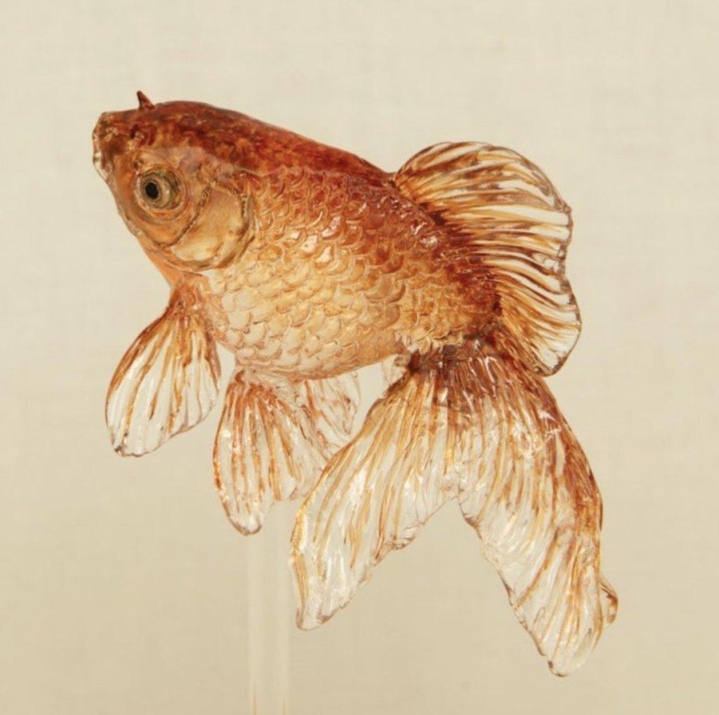アメシン飴細工の金魚