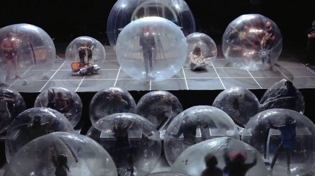 ソーシャルディスタンス バブルボール