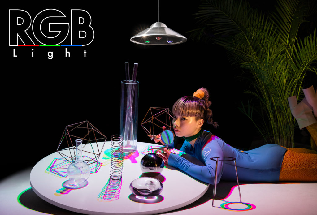 RGB_Light、RGBライト、ライト、三原色、影