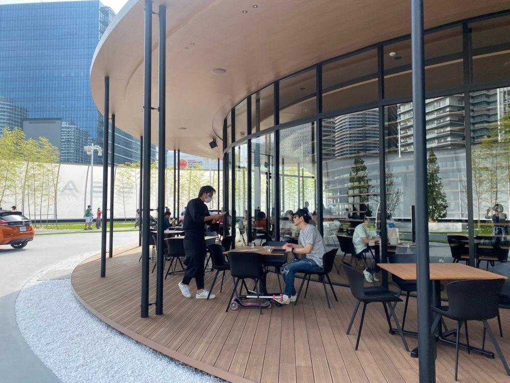 NISSAN PAVILION 日産 ニッサンパビリオン CAFE カフェ 体験 レポート