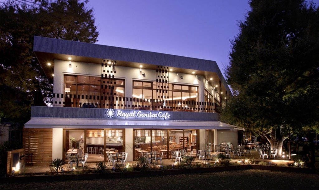 ロイヤルガーデンカフェ 、青山、テラス、カフェ