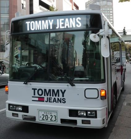 トミージーンズ、TOMMY JEANS、バス、ライブ