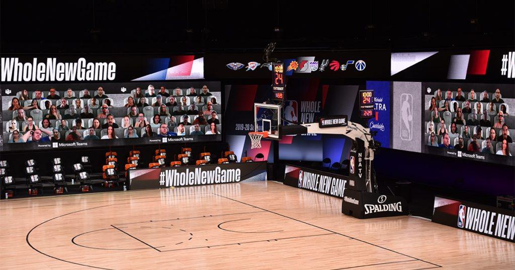 コロナ、開催、大型イベント、NBA、バスケ、バーチャルマッチ