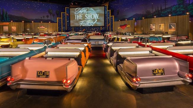 面白映画館、世界の面白映画館、個性的、映画館、面白い、クラシックカー