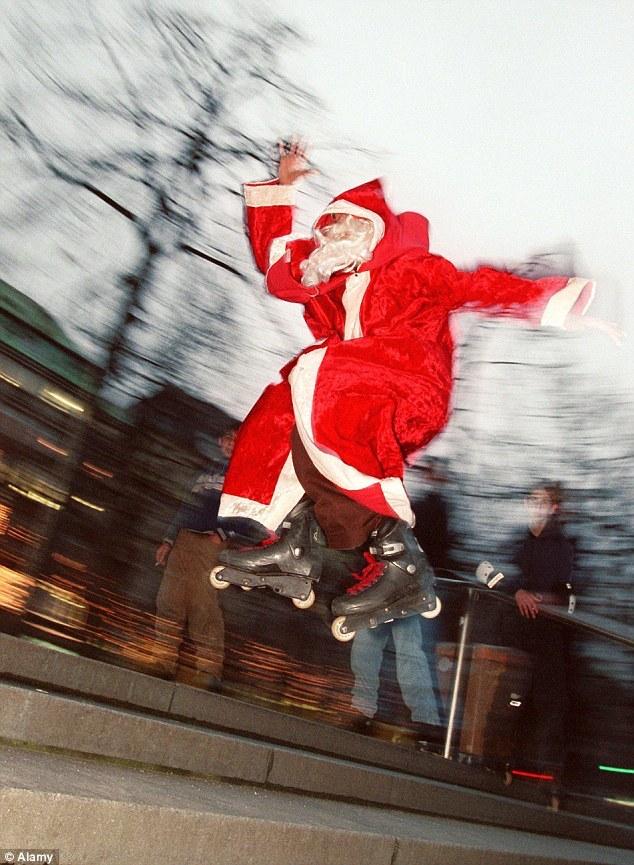クリスマス、世界のクリスマス、世界、面白い、個性的、ユニーク、ベネズエラ、ローラースケート