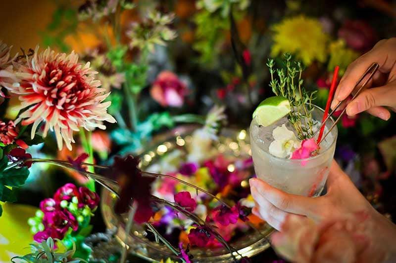 エディブルフラワー、おいしい花畑、EDIBLE GARDEN、