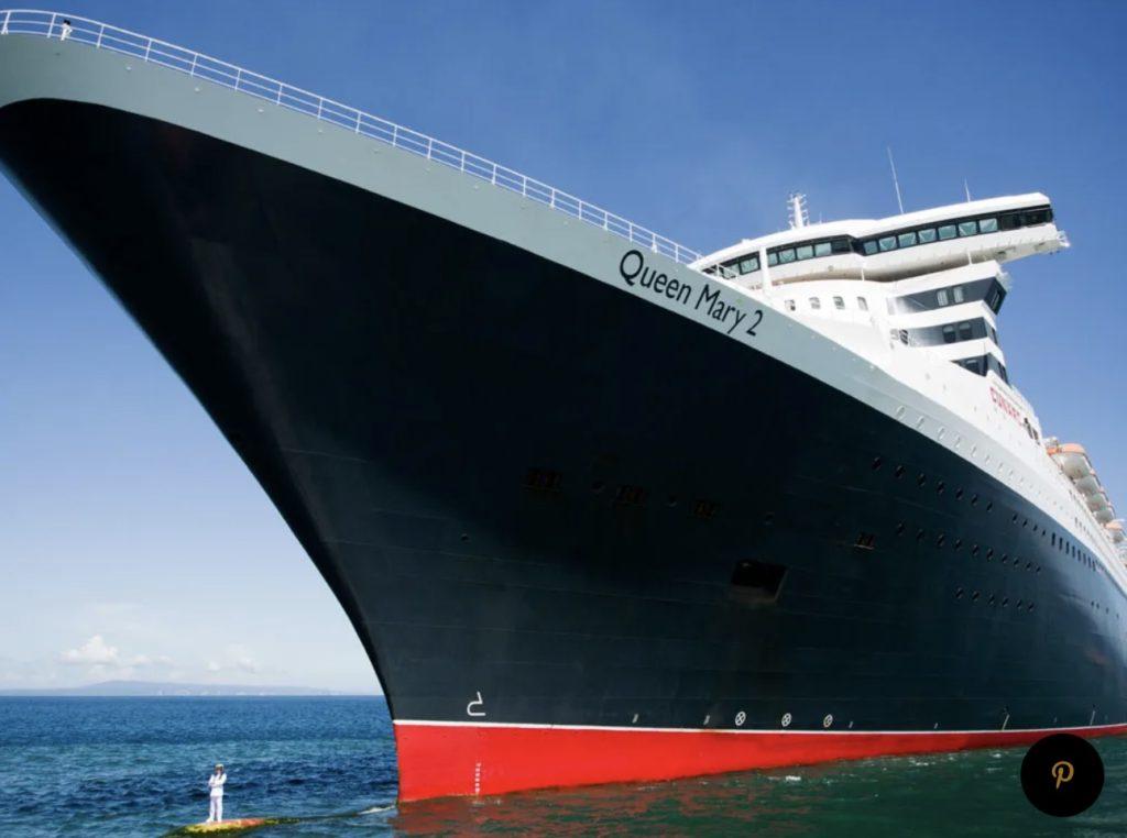 大西洋横断ファションウィーク、キュナード、ファッションショー、豪華客船