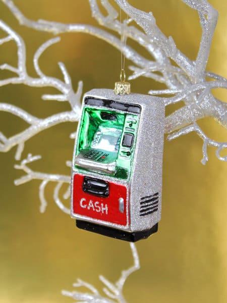 クリスマス、オーナメント、クリスマスオーナメント、ユニーク、ATM