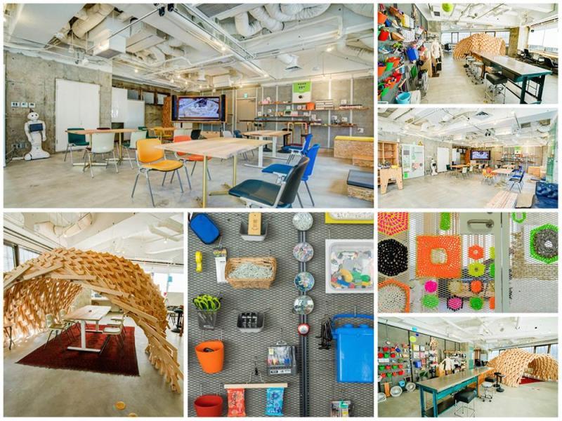 コワーキングスペース、東京、ユニーク、クリエイティブ、インスピレーション、FabCafe MTRL
