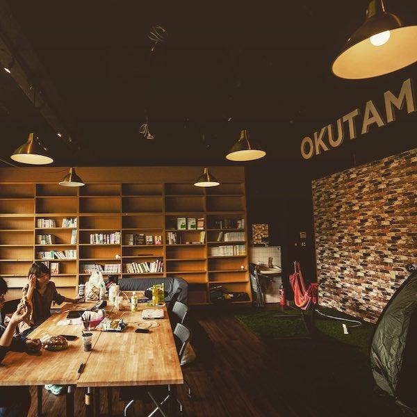 コワーキングスペース、東京、ユニーク、クリエイティブ、インスピレーション、OKUTAMA+