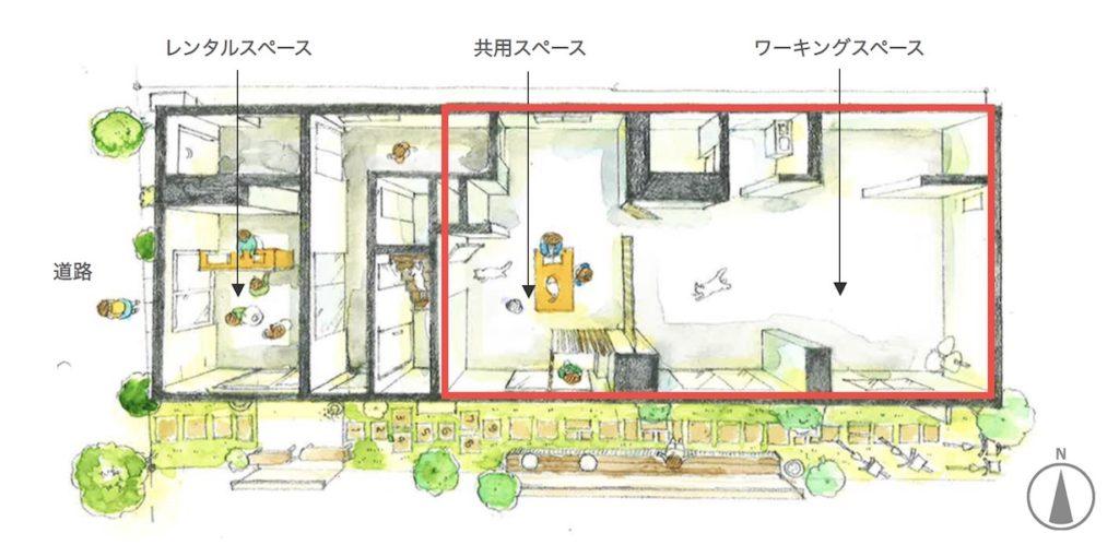 コワーキングスペース、東京、ユニーク、クリエイティブ、インスピレーション、SANCHACO